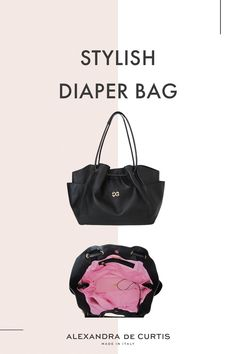 Are you looking for a stylish leather diaper bag? Click through to check out this designer diaper bag handmade in Italy! Italian Leather Handbags, Designer Leather Handbags, Black Leather Handbags, Leather Diaper Bags, Baby Changing Bags, Italian Street, Baby Diaper Bags, How To Make Handbags, Italian Fashion