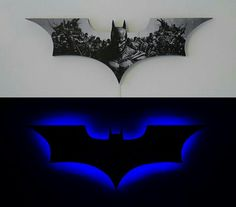 Awesome Batman light for a kid's room