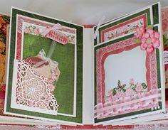 "Heartfelt Creations Arianna Blooms Paper Collection Mini Album ""Memories"""