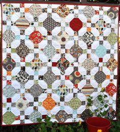 Daisy Crossing Quilt Pattern by RedBucketList on Etsy, $8.00