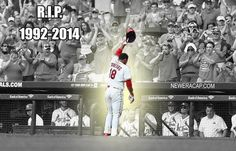 Oscar Taveras...born on June 19, 1992- Died  on October 26, 2014. RIP