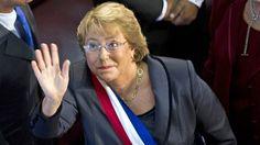La presidenta de Chile Michelle Bachelet reorganiza su gabinete ministerial