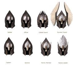 Ranks of the soldiers of Gondor #lotr