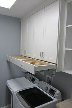 DIY Laundry Room Storage Shelves Ideas Laundry room decor Small laundry room organization Laundry closet ideas Laundry room storage Stackable washer dryer laundry room Small laundry room makeover A Budget Sink Load Clothes Laundry Room Remodel, Laundry Room Cabinets, Laundry Room Organization, Organization Ideas, Diy Cabinets, Storage Ideas, Laundry Organizer, Open Cabinets, Closet Organisation