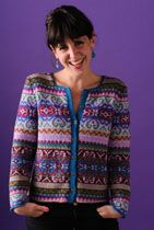 Rosemary - Gilet Caf'e Tricot Studio - pattern free with yarn purchase