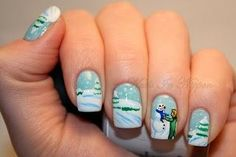 Glitties Nail Art - Google+ - What's your favorite thing to do during the cold weather?…