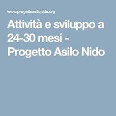 Attività e sviluppo a 24-30 mesi - Progetto Asilo Nido Estate, Sanitary Napkin