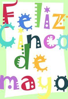 Free #Printable Feliz Cinco de Mayo Greeting #Card #CincoDeMayo
