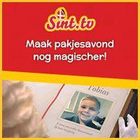 Nu bij Sint tv: Maak nu je persoonlijke video bij Sint voor maar 13,95 euro en verbaas je kinderen! De Club van Sinterklaas spreekt je kinderen persoonlijk... #Sint #Sinterklaas