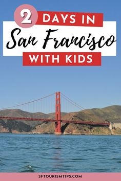 Visiting San Francisco with kids? Discover the best things to do with my 2-day (or weekend) itinerary. Top picks include a cruise on the SF Bay, a visit to our top kid's museums, and a stroll across the Golden Gate Bridge! Weekend In San Francisco, San Francisco With Kids, San Francisco Travel, Northern California Travel, Golden Gate Bridge, Best Hotels, Amazing Photography, Cruise, Things To Do
