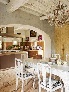 meu canto blog: Visita Privada: Una casa en la Toscana