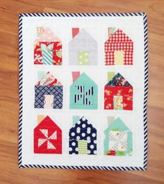 On Trend: House Blocks and Quilts