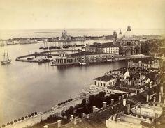 Albumen photograph of Venice by Carlo Naya. Circa 1865.