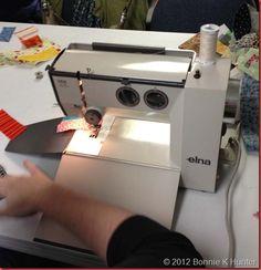 "Elna Lotus --part of my moving neighbors ""giveaway free"" to me..now I need to learn to sew, but I am so afraid I will screw up!"