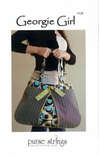 The Georgie Girl Bag is clever and cute with a stunning design showcasing your favorite fabrics.