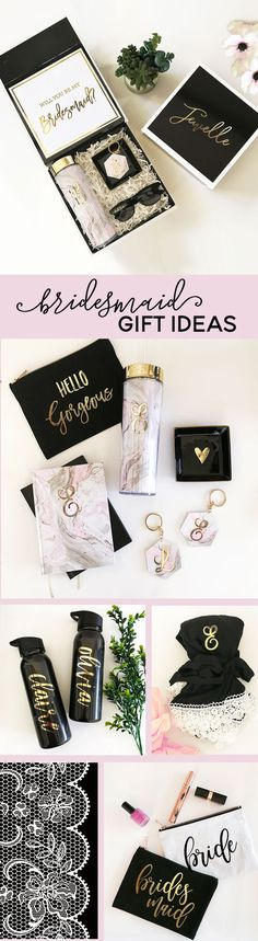Bridesmaid Gift Ideas | Gifts for Her | Personalized Gifts for Women