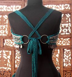 I want to try making a coin bra with a back like this, or a choli top.