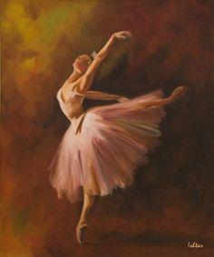 """""""Ballerina"""" by Ishtar Al Shaybani - http://www.ishtarart.co.uk/gallery-i/222934_ballerina.html -  - Ballet, балет, Ballett, Bailarina, Ballerina, Балерина, Ballarina, Dancer, Dance, Danse, Danza, Танцуйте, Dancing"""