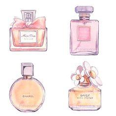 Perfume print: