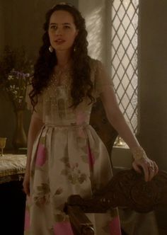 The Darkness: Lola's dress is my favorite of the episode!! And the cuff is gorgeous to...looks like lace and beads!