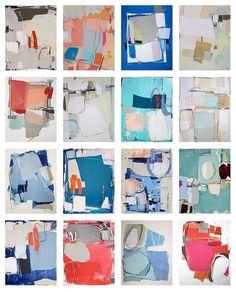 Karin Olah Abstract Paintings