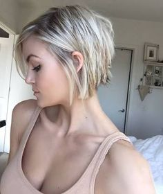 Image result for back view of short choppy hairstyles