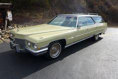 Elvis's 1972 Cadillac Station Wagon