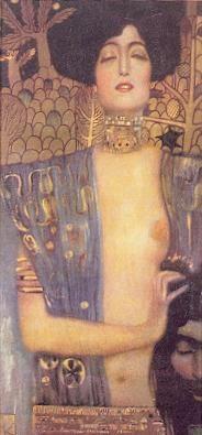 Judith I by Klimt is in the collection of Österreichische Galerie in Vienna, Austria Book Of Judith, Judith And Holofernes, Gustav Klimt, Travel Memories, Old Master, Banksy, Artist Art, Powerful Women, Les Oeuvres
