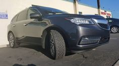 2014 Acura MDX SH-AWD with Goodyear Wrangler Duratrac 255/55/R19 All Terrain Tires Ready for some offroad and snow