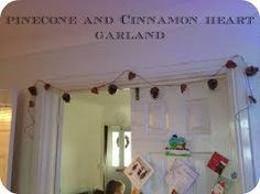 Image result for pinecone garland