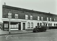 13-21 Mozart Street • 1964 Front Elevation, London Photos, Local History, West Side, Westminster, Queens, Nostalgia, Shops, Mood