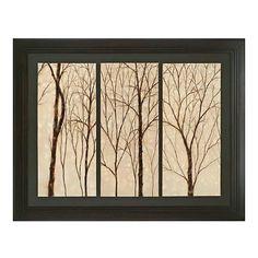 Trees Wall Decor - living room