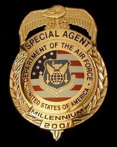 "US Air Force ""OSI"" Office Special Investigations - Special Agent's Badge"