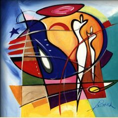 nude girl beside water abstract painting - Google Search