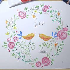 Carolina Falcone Illustration #drawingwithmarkers #music  #drawingsomething #illustration #drawingCharacter #character #falcone #mermaids #characterdesign #watercolor # Mermaids, Character Design, Illustrations, Watercolor, Drawings, Music, Instagram, Pen And Wash, Musica