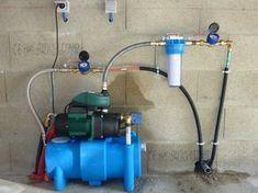 Système de pompage eau de pluie