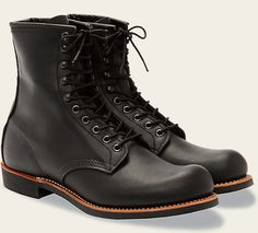 """Harvester Red Wing 8"""" boots"""