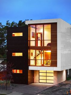 1000 images about townhouse plans on pinterest modern for Modern townhouse exterior