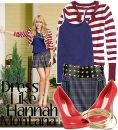 Hannah Montana (Hannah Montana:The Movie) Inspired Outfit