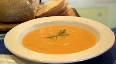The perfect pumpkin and coconut soup