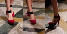 Los zapatos que se amarran en los tobillos.  Éstos son recomendados para piernas largas y delgadas, y mejor si tus tobillos también son delgados ya que estaremos resaltando la zona del tobillo, en cambio si tienes tobillos o pantorrillas gruesas evita éstos zapatos ya que destacarás una zona que no te favorece y además hará que te veas más bajita.