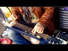 "Guy Discovers Excellent Homeless Slide Guitarist and Posts on Youtube  Makes him 100 pounds! - ▶ Amazing busker ""Nelly Niel"" get's a surprise! - YouTube"