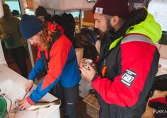 Learning how to fillet the fish on our Norwegian Fishing Tour in Tromsø, Norway Pukka, Tromso, Catamaran, North Face Backpack, Norway, Fishing, Lunch, Tours, Learning