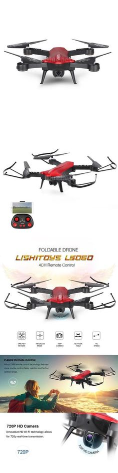 Quadcopters and Multicopters 182185: Usa Lishitoys L6060 720P Hd Camera 2.4G Selfie Drone Rc Quadcopter Rtf Ufo I1r5 -> BUY IT NOW ONLY: $59.18 on eBay!