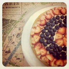 Bastille Day Cake.  Doing this.  Yea fruit!