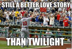 I actually like Twilight but I love my Braves and Chipper :)