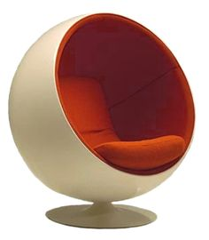 The Ball Chair is probably the most iconic cocooning furniture ever.