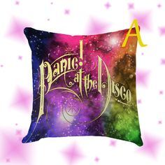 Panic At The Disco Pillow Cover Case by Globbie on Etsy