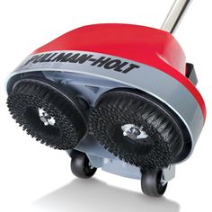 The Home Floor Scrubber/Polisher - Hammacher Schlemmer I wonder if this would clean our tile and grout better than a Shark steamer or hand mop?