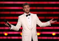 Justin Timberlake Photos Photos - Host Justin Timberlake onstage at the 2008 ESPY Awards held at NOKIA Theatre L.A. LIVE on July 16, 2008 in Los Angeles, California.  The 2008 ESPYs will air on Sunday, July 20 at 9PM ET on ESPN. - 2008 ESPY Awards - Show